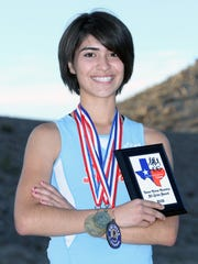 Jocelyn Caro was the 2012 El Paso Times' All-City Girls' Cross Country Runner of the year.