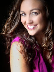 Meghan Folkerts, mezzo-soprano and first-year resident artist for Shreveport Opera Xpress.