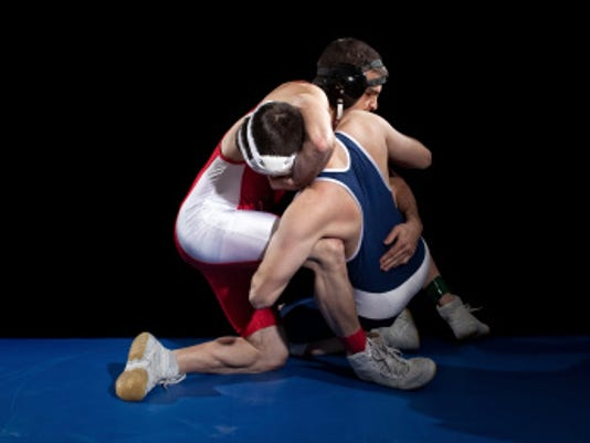 STOCKIMAGE-wrestling