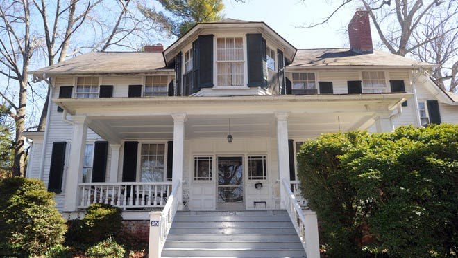 The Patton-Parker House that was built in 1868 at 95 Charlotte St. The Preservation Society of Asheville and Buncombe County is assisting in the sale of the house at the request of the family.