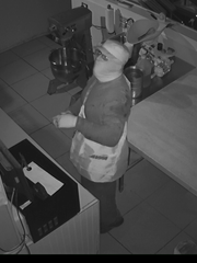 Suspect in doughnut shop burglary