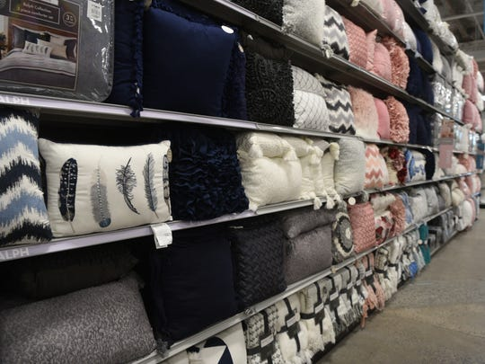 At Home, a Texas-based home décor chain, opened its first North Jersey location in at Willowbrook Plaza on Wednesday, June 13, 2018. The store totaling more than 80,000-square-feet sells housewares, furniture and seasonal items.