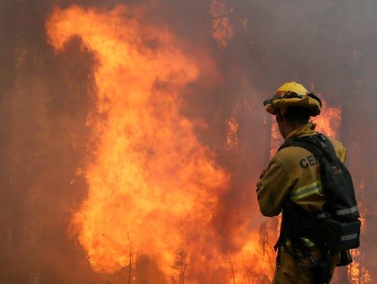 Calif. wildfires