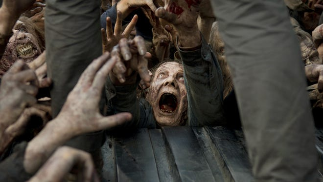 """""""The Walking Dead"""" returns to AMC on Oct. 11."""