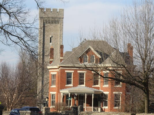 Fort Thomas homes and tower