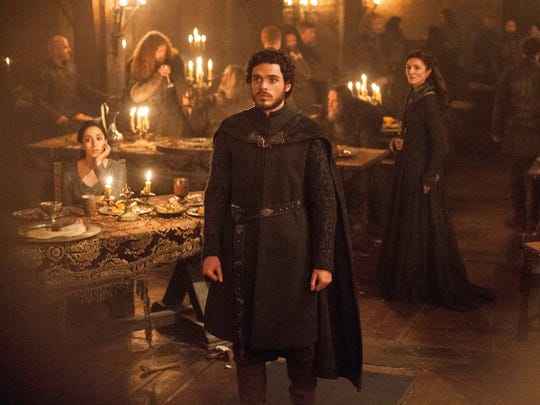 "A scene from 'Game of Thrones' infamous ""Red Wedding"""