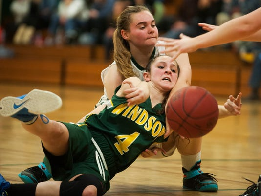Windsor vs. Winooski Girls Basketball 02/18/15