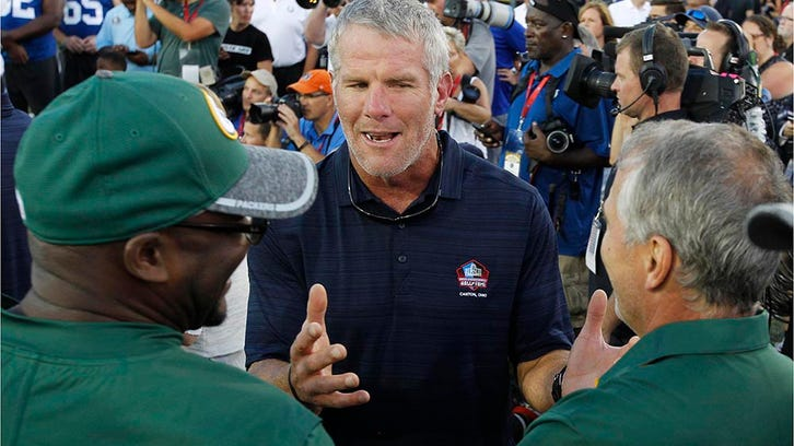 Favre joins fight against youth tackle football