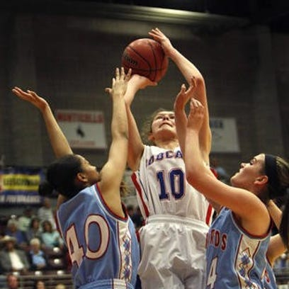 In this file photo, Panguitch's Darri Frandsen shoots