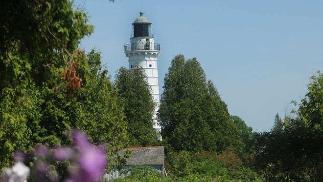Cana Island Lighthouse off Baileys Harbor is one of the attractions in the 25th annual Door County Lighthouse Festival.