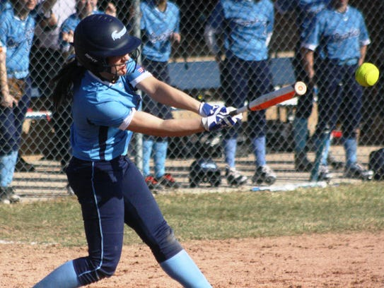 Stevenson's Kassidy Lipinski ripped two hits in the