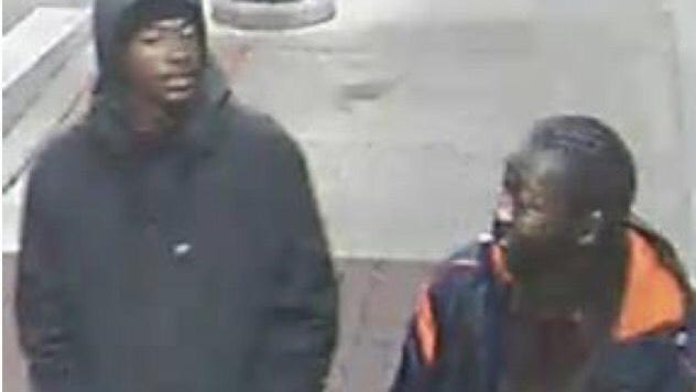 Police released photos of two suspects in the fatal shooting of a limo driver on Detroit's east side Saturday morning.