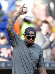 Former Detroit Tigers pitcher Joel Zumaya acknowledges