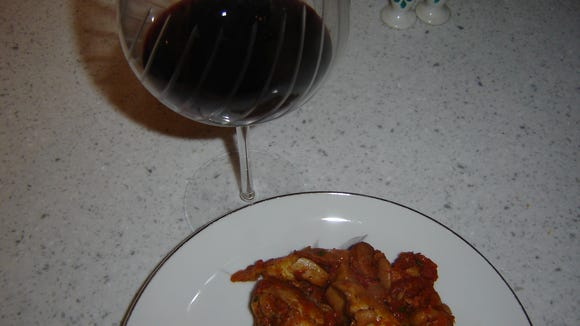 Cassoulet, a traditional French casserole, tasted even more scrumptious when paired with Keuka Lake Vineyards' 2011 Leon Millot.