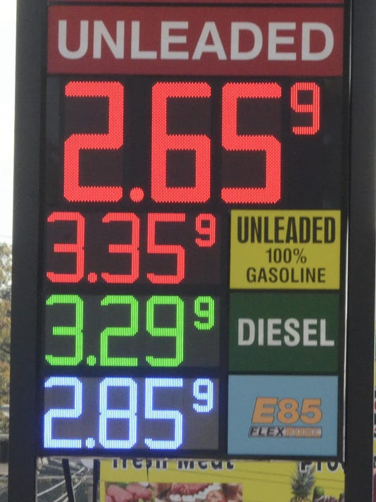 AP TENNESSEE GAS PRICES A USA TN