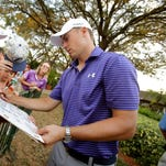 Friday's roundup: Stricker shares lead