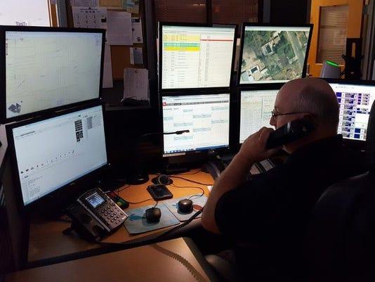 Cumberland County 9-1-1 Dispatcher Newell Branin Jr.