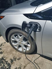 Charging the Chevy Volt is as easy as plugging it in