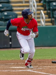 Fort Myers Miracle outfielder Jaylin Davis.