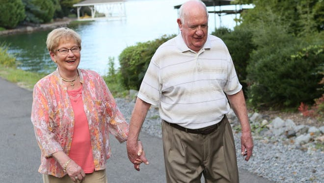 Don and Dot Thomas, both 80, moved from Elm Grove, Wis., to Hot Springs Village, Ark., in their retirement.