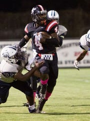 Rodriqus Coleman (4) and Lumberton again appear to