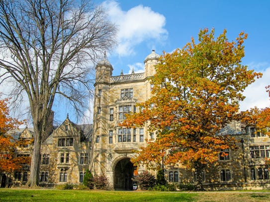 The renowned University of Michigan campus has everything