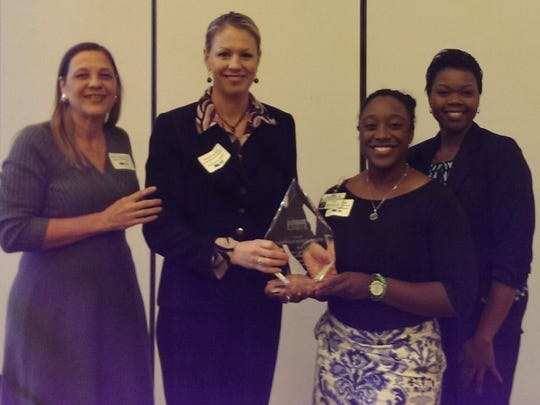 Greenville Hospital System representatives accept the Diversity and Inclusion Large Business Award.