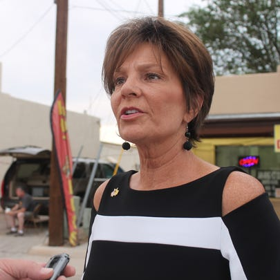 State Rep. Yvette Herrell, R, won the Republican primary