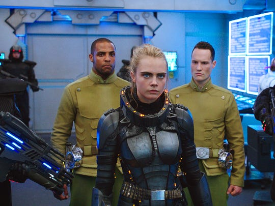 Cara Delevingne takes charge as a special operative