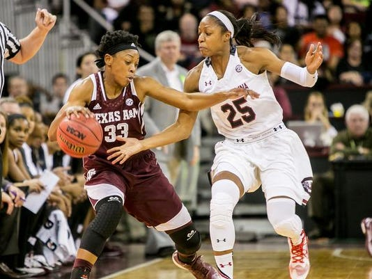 NCAA Womens Basketball: Texas A&M at South Carolina