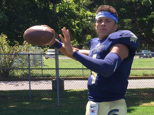 Holy Spirit quarterback Josh Zamot threw for 15 touchdowns