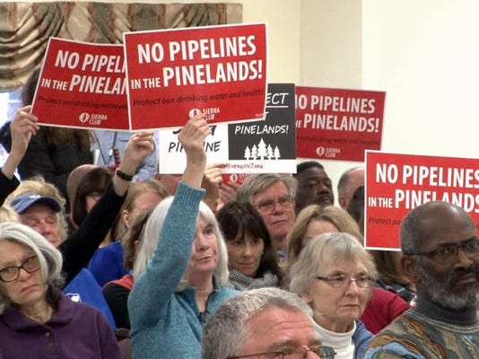 ASB 0125 pinelands pipeline hearing