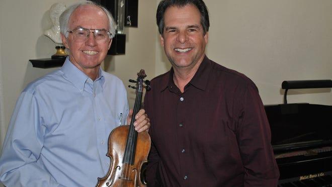 Mark Gibbons and Roger Hollingshead