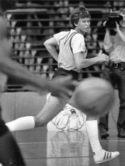 Ann Meyers' biggest regret was that she gave up a chance to play basketball with the boys in high school. Offered a chance to try out with the Pacers in 1979, she wasn't about to miss that chance again.