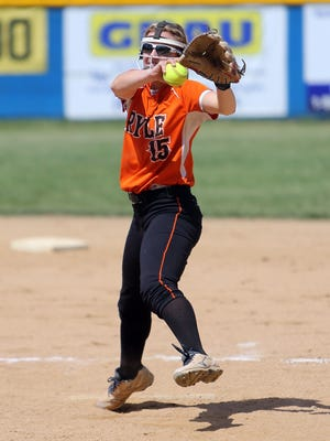 Ryle's Kenady Carson shut out against Newport Central Catholic on Monday.