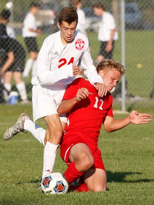 With four goals on Thursday, West Lafayette's Carson Cooke now has 18 in seven matches this season.