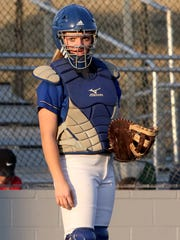 City View catcher Mackenzie Cave played the role of hero in the Lady Mustangs' wild series win against Peaster.
