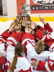 The Cornell women's hockey team has won four ECAC Hockey