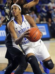 MTSU's Cheyenne Parker was drafted fifth overall by