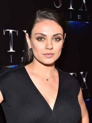 Actor Mila Kunis at CinemaCon 2017 The State of the