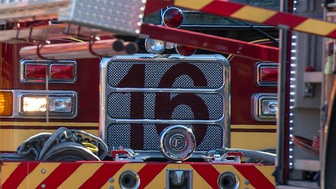 Salisbury Fire Department fire truck