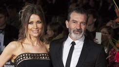 Antonio Banderas and Nicole Kimpel attend the 20th