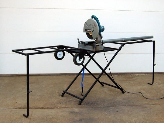 Clint Birkeland created the Lee Unlimited Power Bench after destroying other work benches in his work as a contractor.
