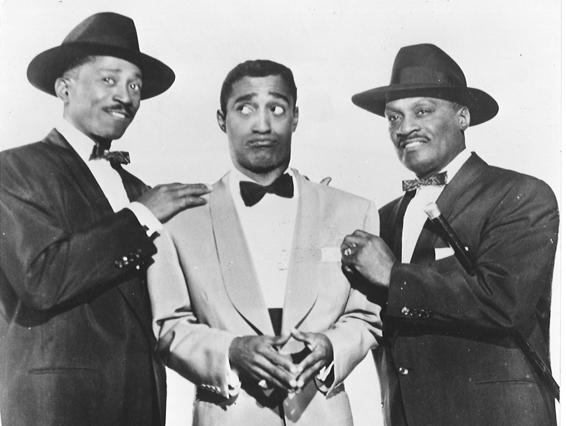 Sammy Davis Jr. performed with his uncle and father