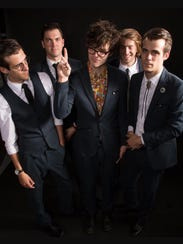 Ska group The Snails, pictured, will play a double