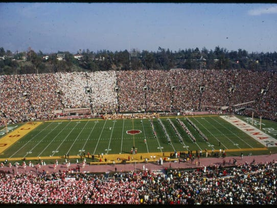 The 1968 Rose Bowl is the only time IU has played in