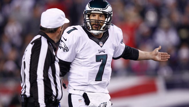 Sam Bradford played one season for the Eagles. He was traded to the Vikings on Saturday.
