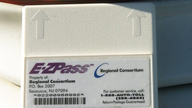 EZ Pass transponder from a car.