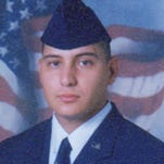 Raymond Losano, 24, died of wounds suffered in a firefight with Taliban holdouts near Shkin Fire Base in eastern Afghanistan on April 28, 2003. Losano, who attended high school and community college in Tucson, was part of the 14th Air Support Operation Squadron.