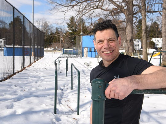 Michael Polito, pictured at Spratt Park in the City of Poughkeepsie.